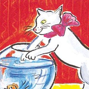 画像2: 猫レターセット NY500