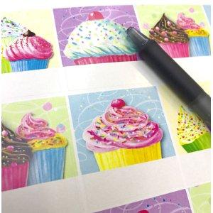 画像3: カップケーキのラベルY1783