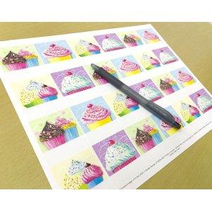 画像2: カップケーキのラベルY1783