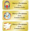 キラキラ☆クリスマスのデザイン