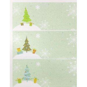 画像2: クリスマスツリーの緑のラベル