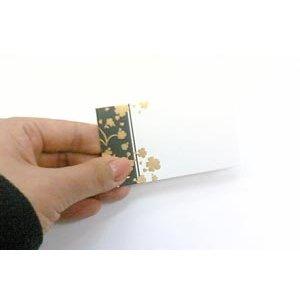 画像2: 片面 ミニカード(印字はできません)金の箔がキラキラ