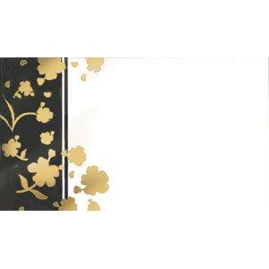 画像1: 片面 ミニカード(印字はできません)金の箔がキラキラ