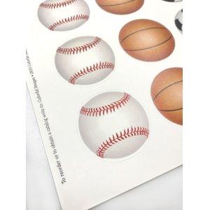 画像3: サッカーや野球、バスケ、ラグビーボールのデザイン
