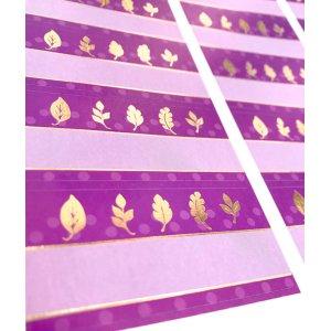 画像2: 赤紫×金色のエレガントカジュアルな風合い