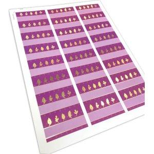 画像3: 赤紫×金色のエレガントカジュアルな風合い