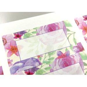 画像2: 美しい花の水彩画風デザイン