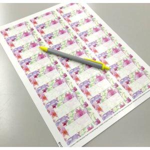 画像3: 美しい花の水彩画風デザイン
