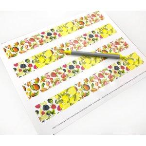 画像3: 果物がいっぱいのデザイン