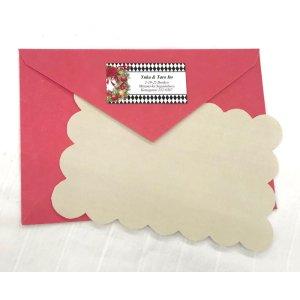 画像3: 黒×ベージュ×クリスマスリースの大人っぽいデザイン!