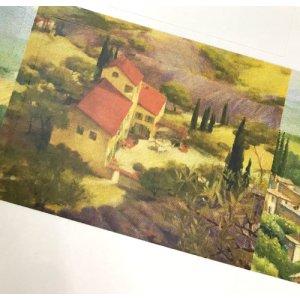 画像5: ナチュラルな色合い 風景画のデザイン