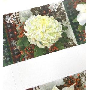 画像3: 白い大きな花が美しいデザイン