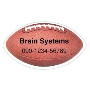 画像1: ラグビーボールのデザイン