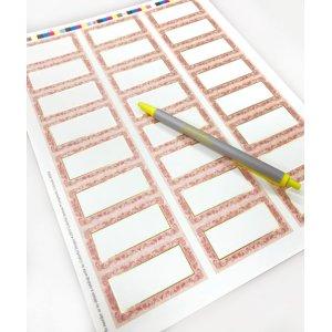 画像4: 金のラインとピンクがエレガント
