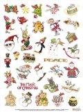 メアリーエンゲルブライトのクリスマス♪シール アメリカ雑貨