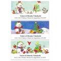 クリスマスのほっこり可愛い雪だるま♪