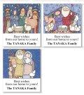 正統派クリスマスの可愛いイラスト!