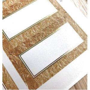画像2: 金の箔×自然素材との組合せ!