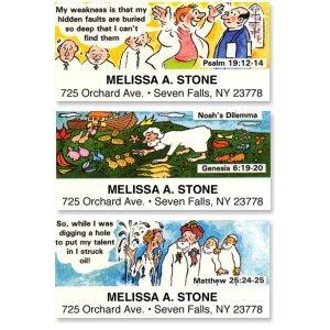 画像1: 聖書のデザイン!アドレスラベル