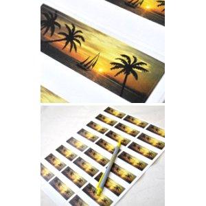 画像3: ハワイ?南国のアドレスラベル