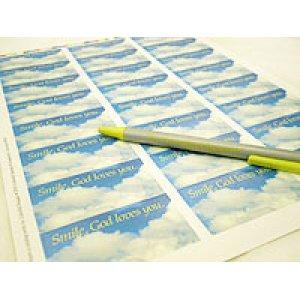 画像3: 青空の清々しいアドレスラベル