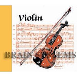 画像2: ヴァイオリンのデザインA142
